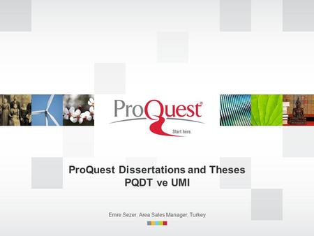 proquest dissertations and theses tutorial