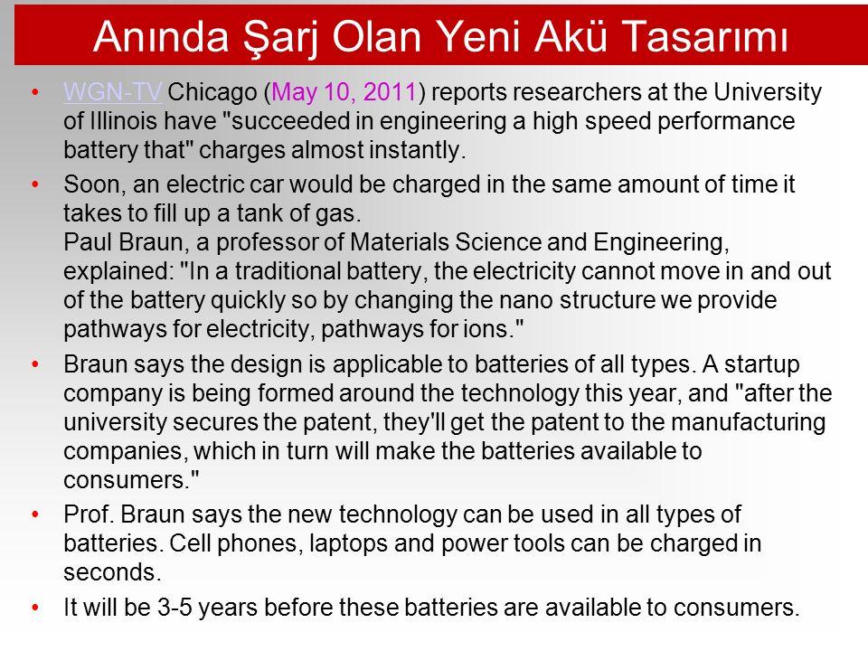 Akü Kapasitesinin 2 Katına Çıkarılması http://www.technologyreview.com/energy/39806/?p1=A1