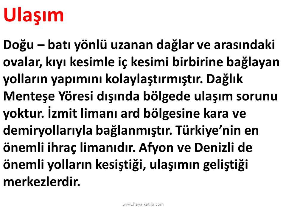 Bölgenin Ülke Ekonomisindeki Yeri Ege Bölgesi sosyo-ekonomik gelişmişlik açısından Marmara Bölgesi'nden sonra 2.