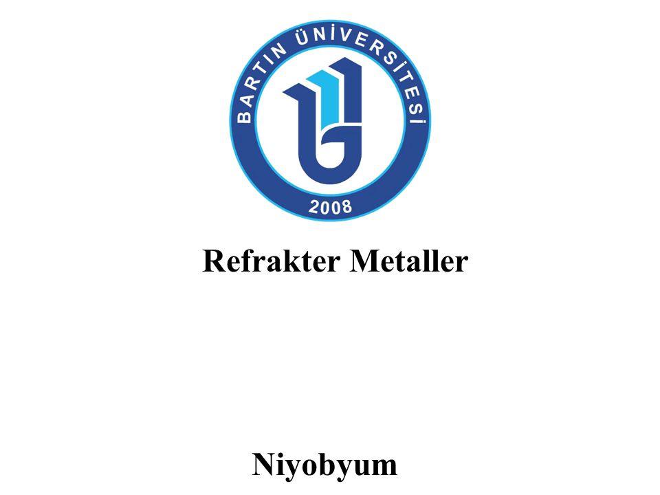Niyobyum: Tarihi 1801 yılında İngiliz kimyacı Charles Hatchett kolumbit mineralini keşfetti ve kolumbiyum adını verdi.
