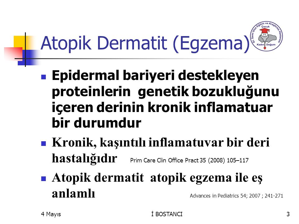 Horny layer Epidermis Dermis Chemokines Inflammatory cells Barrier dysfunction Th2 Allergic Inflammation Mast cells Allergens Bacteria Th2 Lymphocytes Cytokine Chemicals IgE Fc  R1 Dendritic cell Pathomechanisms of atopic dermatitis IgE Fc  R1