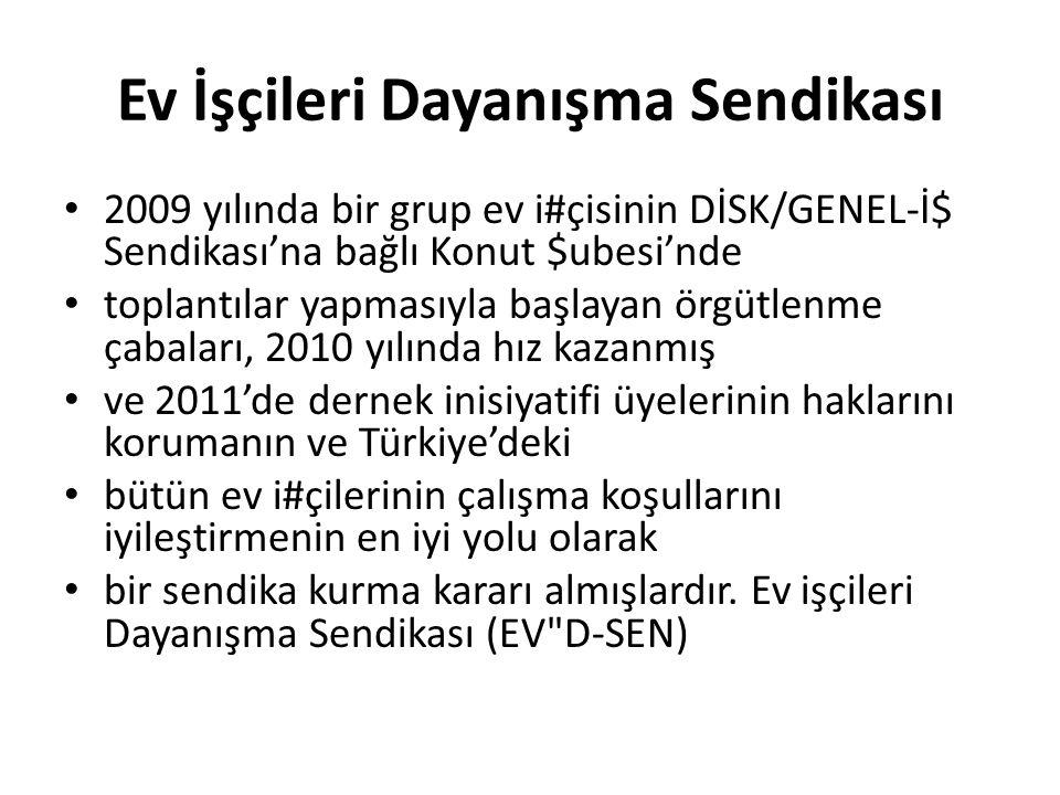 İmece Kadın Sendikası Girişimi 2001 yılında çeşitli mesleklerden bir grup kadın İstanbul Esenyurt'ta, Kadın Araştırmaları ve Dayanışma Merkezi'ni (KADMER) kurmuş; örgütlenmenin yaygınlaşmasıyla birlikte, 2003 yılında imece isminde bir kooperatif, ardından da bir dernek kurmuşlardır.