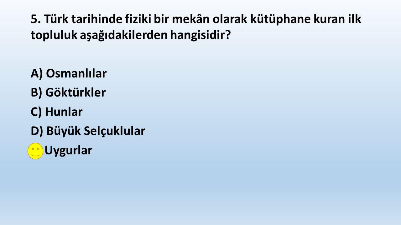 6.İslam ordularına karşı, I. Hazar, II. Türgiş, III.