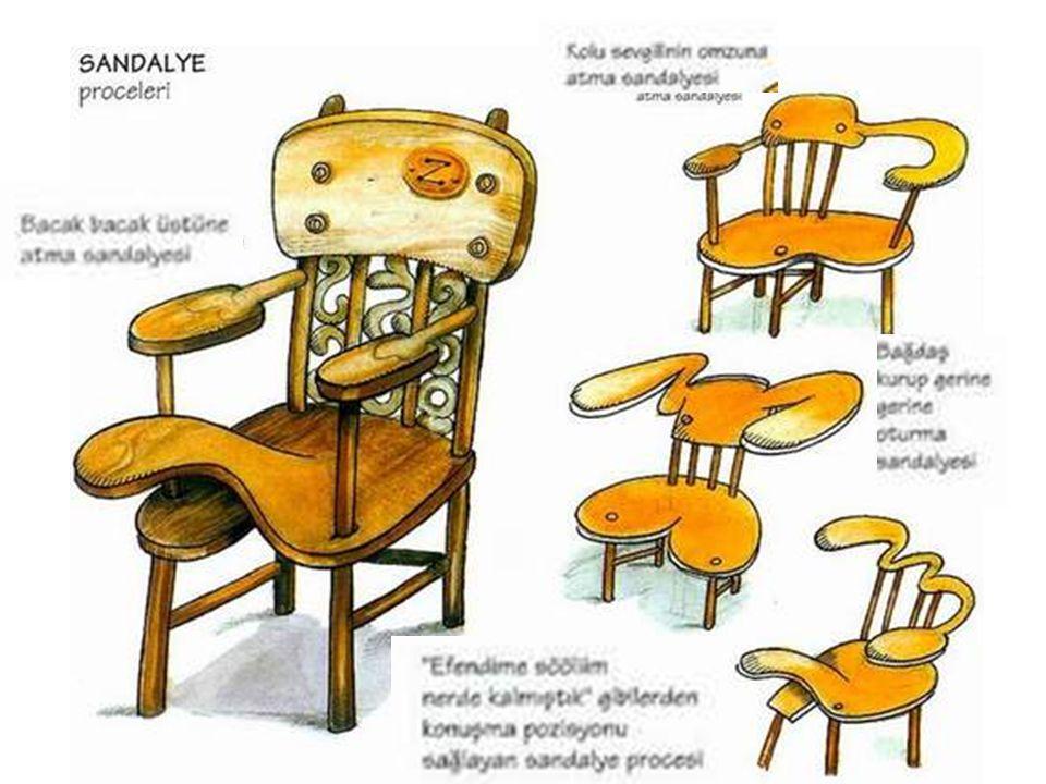 Dedelere özel sandalye