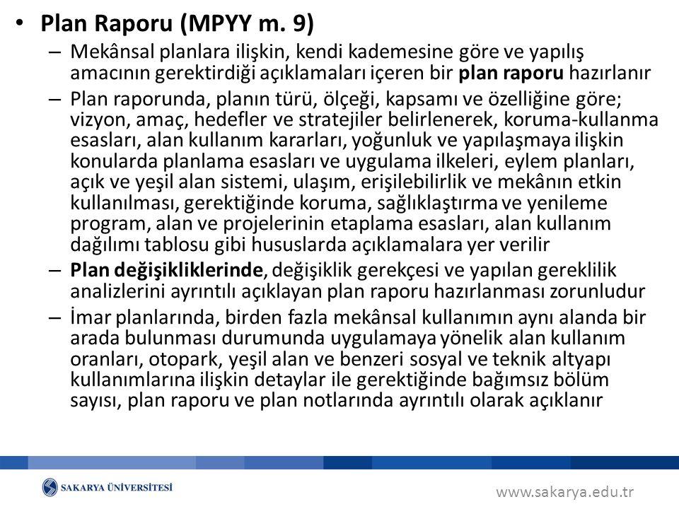 www.sakarya.edu.tr Gösterim (Lejand Teknikleri) (MPYY m.