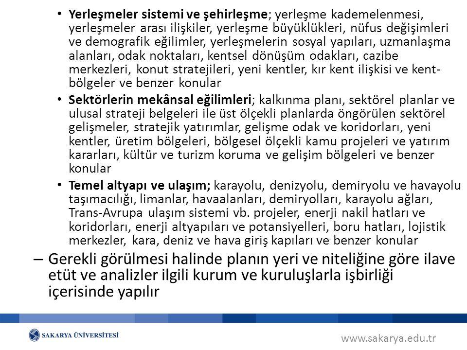 www.sakarya.edu.tr Planın Uygulanması ve İzleme (MPYY m.