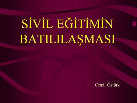 OSMANLI VERASET SİSTEMİDEKİ DEĞİŞİMLER 51