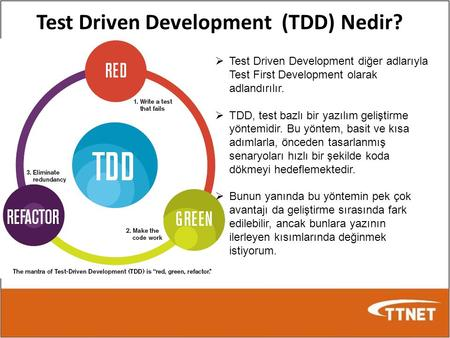 Test Driven Development (TDD) Nedir?