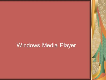 Windows Media Player. Windows Media Player'in kitaplık olarak görünümü alt resimdeki gibidir…