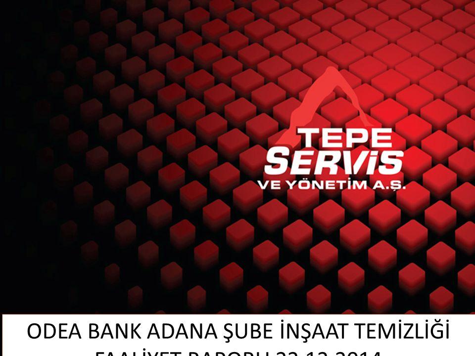 SUNUM İÇERİĞİ www.tepeservis.com.tr A.YAPILAN FAALİYETLER B.FAALİYETLER İLE İLGİLİ GÖRSEL