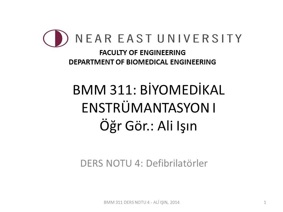 BMM 311 DERS NOTU 4 - ALİ IŞIN, 20142