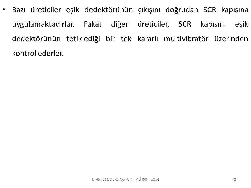 BMM 311 DERS NOTU 4 - ALİ IŞIN, 2014 Defibrilatör Çeşitleri Manuel Defibrilatörler; Hastaya ne kadarlık bir şarj uygulanacağına ve deşarj anına kullanıcı karar verir.