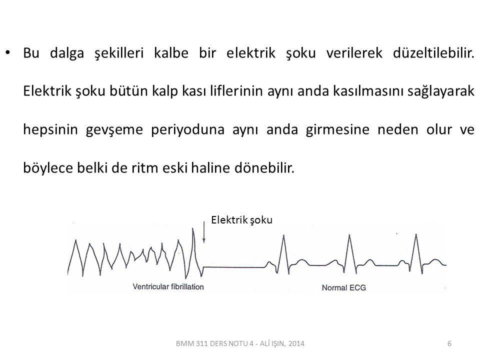Defibrilatörler Defibrilatör ölümcül bir aritmi durumuna girmiş bulunan kalp kaslarına bir elektrik şoku göndermeyi sağlayan bir alettir.