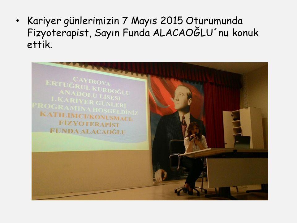 Ekal 1. Kariyer Günlerinin Son Gününde Hürriyet Gazetesinden Gazeteci Süleyman Arat´ı konuk ettik.