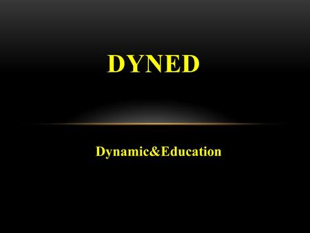 DYNED Dynamic&Education.