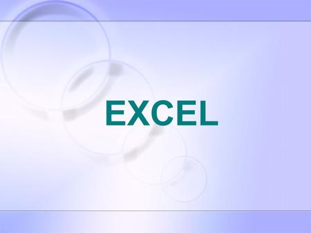 EXCEL.