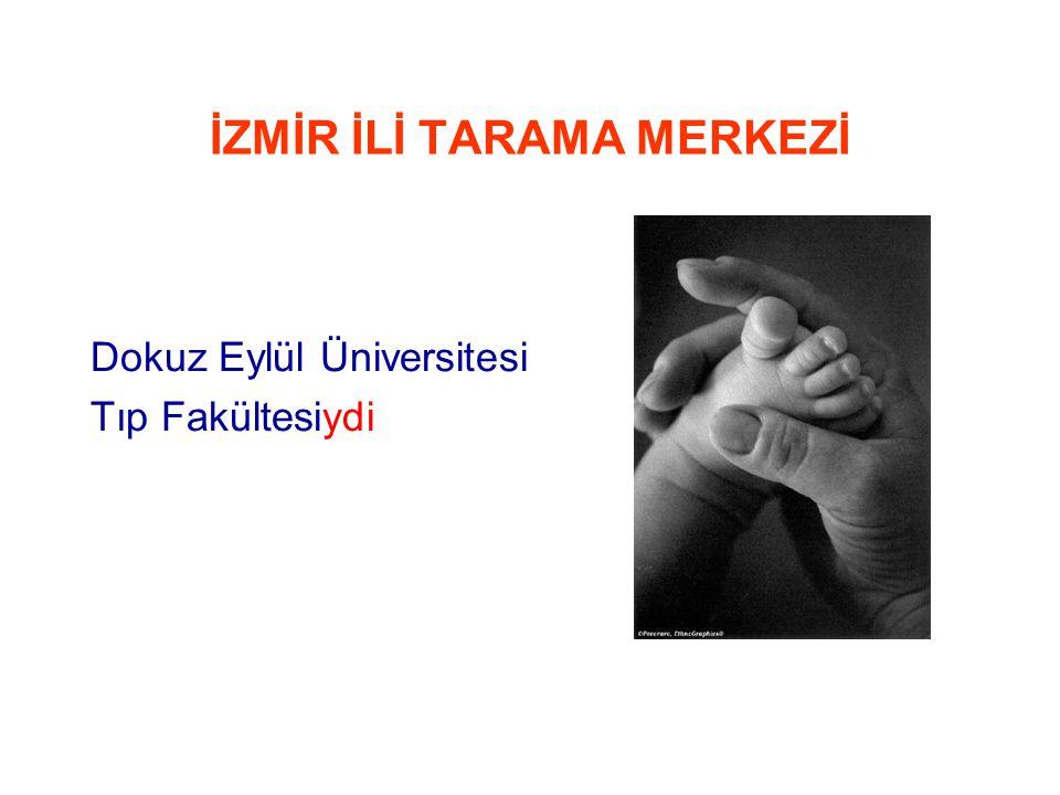Türkiye'de Neonatal Taramadaki Durum • Fenilketonüri Tarama Programı; •1987 yılında başlatıldı, 1993 yılında tüm Türkiye'ye yaygınlaştırıldı.