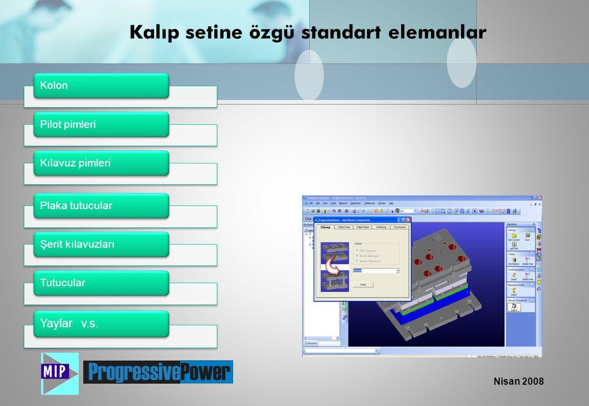 Nisan 2008 NC Bağlantısı Verilerin direk olarak CNC programlamada kullanılması