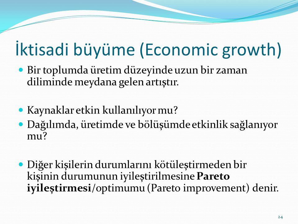 Mikro İktisat – Makro İktisat  Mikro iktisatta (microeconomics) ne üretilecek, nasıl üretilecek, kimler için üretilecek, dağılımda-üretimde- bölüşümde etkinlik var mı.