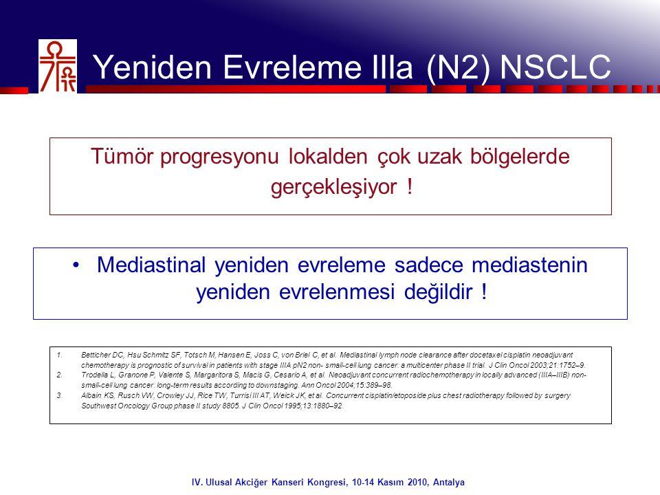 38/32 IV. Ulusal Akciğer Kanseri Kongresi, 10-14 Kasım 2010, Antalya