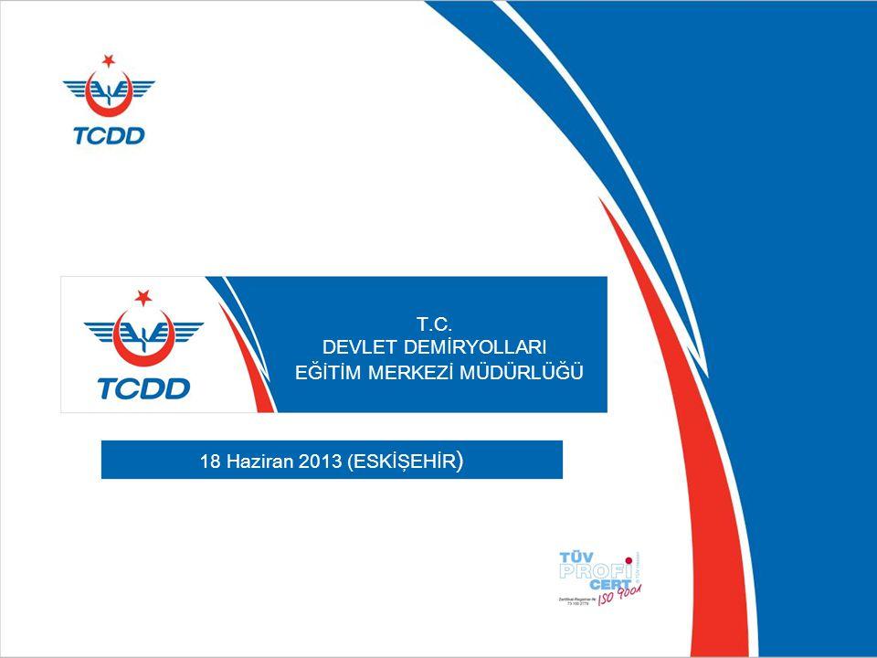 TCDD'DE MAKİNİSTLİK MESLEĞİNİN TANITIMI