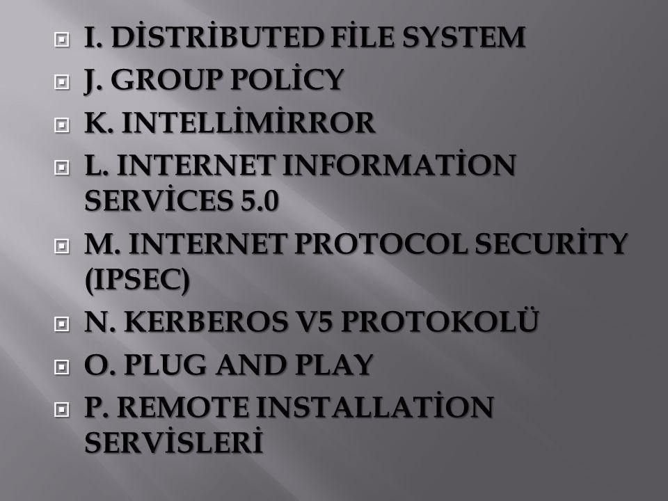  R.TERMİNAL SERVİSİ  S. VİRTUAL PRİVATE NETWORK  T.