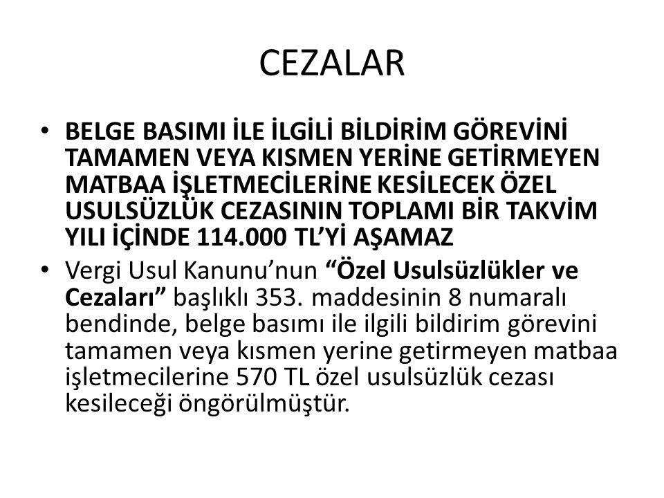CEZALAR • 6009 sayılı Kanun'un 11.maddesiyle 353.