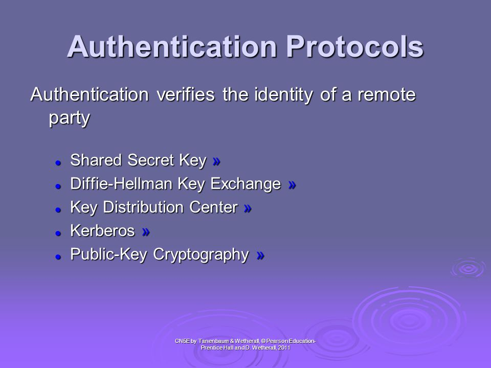 Authorization vs Authentication • Authorization : process permitted to do smth.