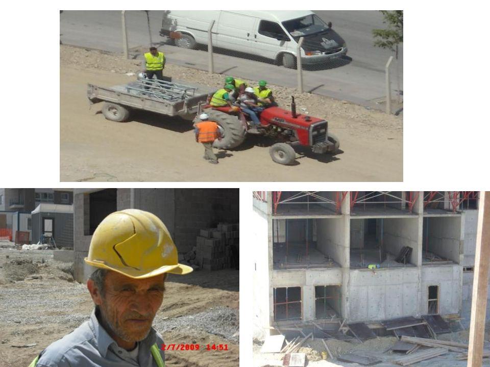 Yapı işleri ; çalışma şartları bakımından, en riskli sektördür.