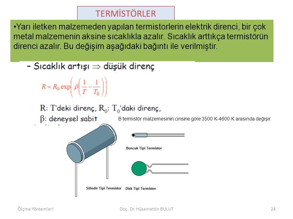 TERMİSTÖRLER Çeşitli termistörler 1.