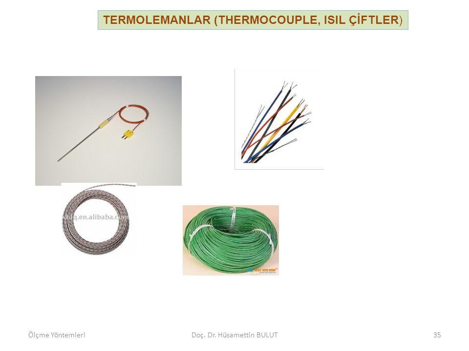 Seri bağlama (termopil): Sistemdeki emk artırılarak hassasiyet artırılır.