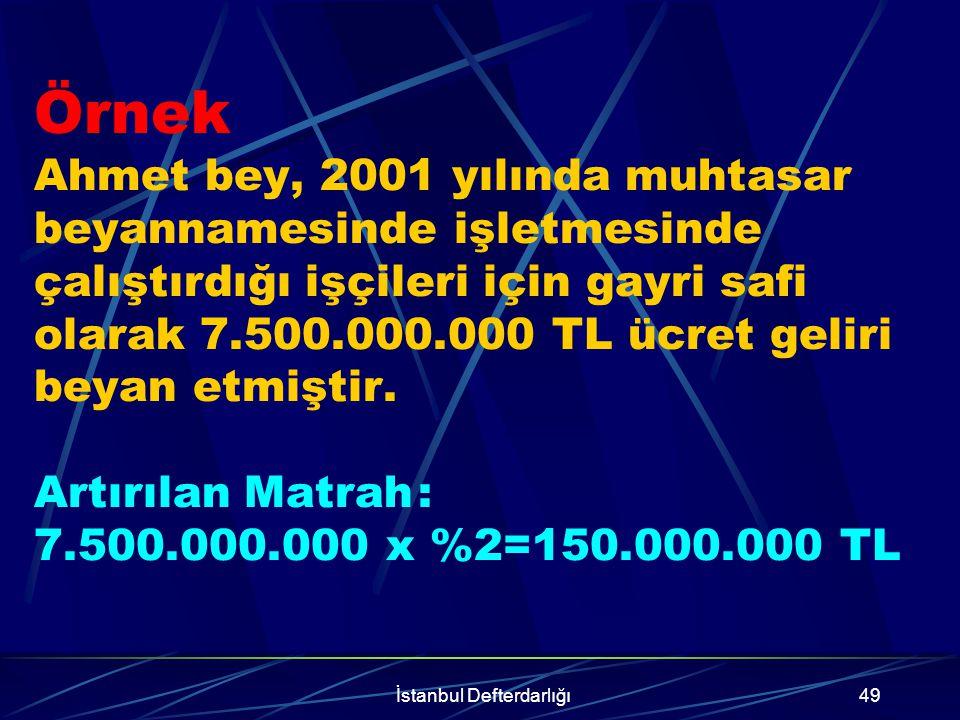 İstanbul Defterdarlığı50 Bu hükümlerden yararlanacak gelir ve kurumlar vergisi mükellefleri; İşletmelerinde mevcut olduğu halde kayıtlarında yer almayan, Kayıtlarında yer aldığı halde işletmede mevcut olmayan, mallarını kayıtlarına intikal ettirebileceklerdir.