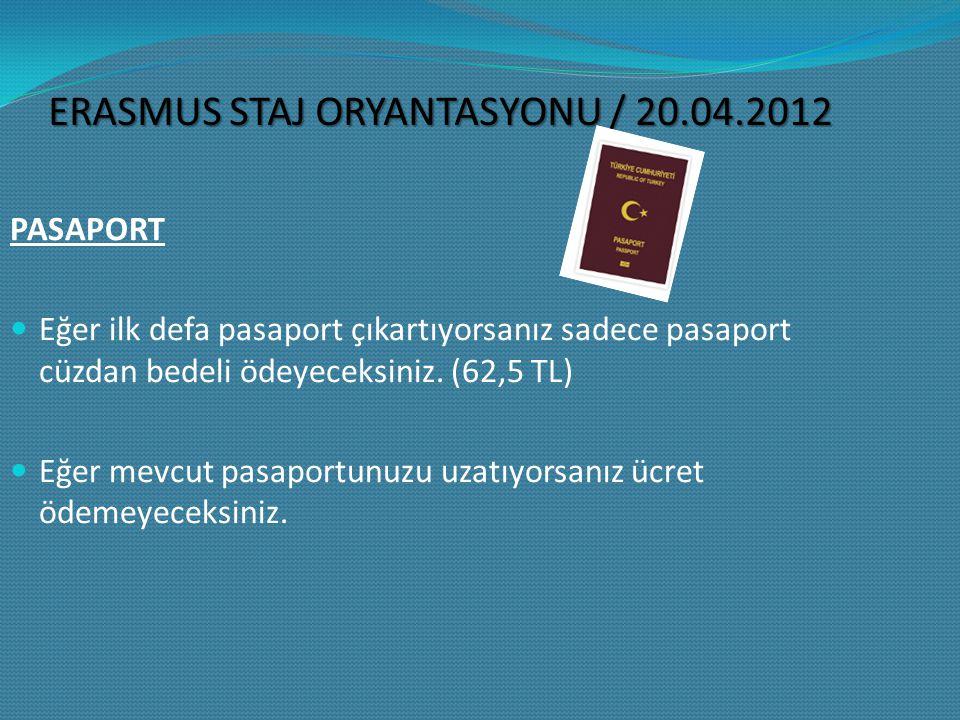 VİZE Anlaşmalı olduğumuz tüm Avrupa ülkeleri umuma mahsus pasaport sahiplerinden vize talep etmektedir.