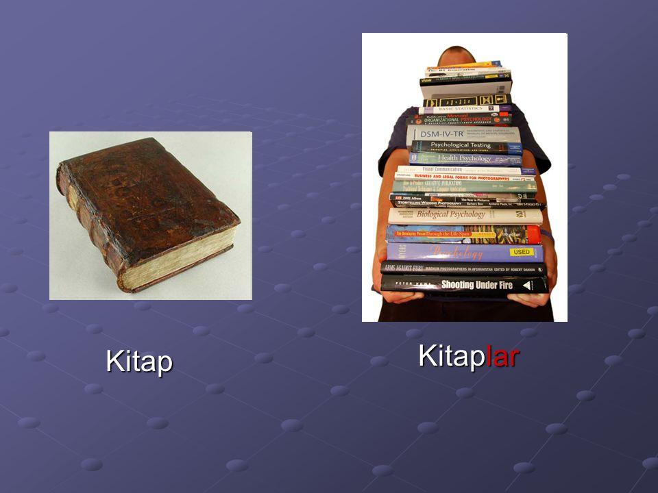 Kitap Kitaplar