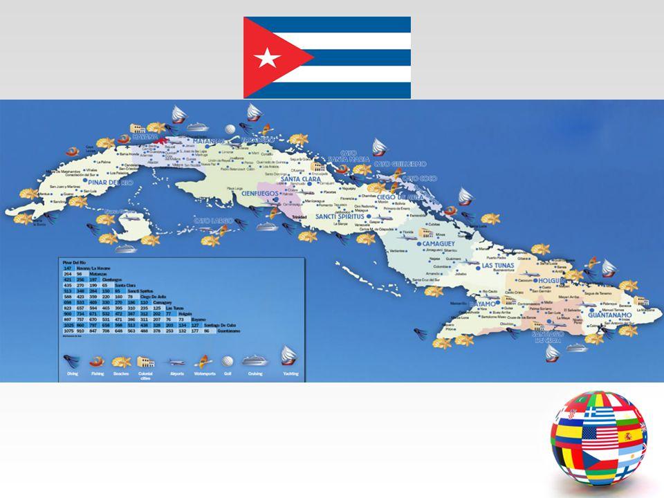  Başkenti : Havana'dır. Yüzölçümü : 114 bin 480 km karedir.