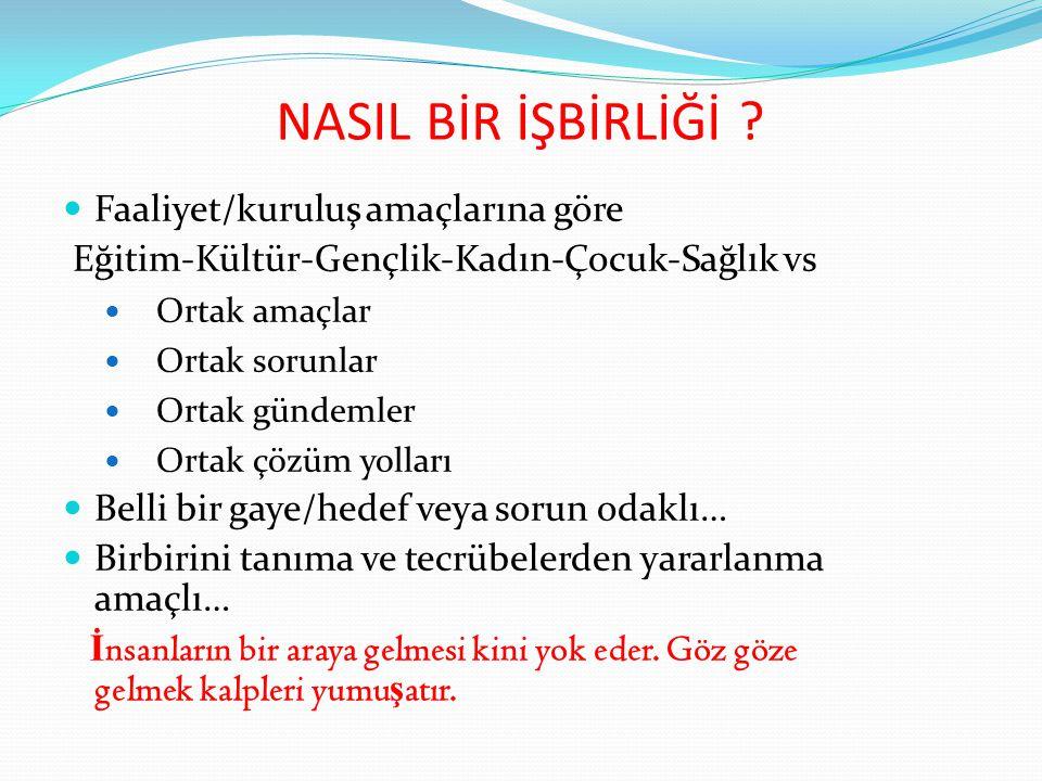 ÖRNEK BİR ÇALIŞMA 1.