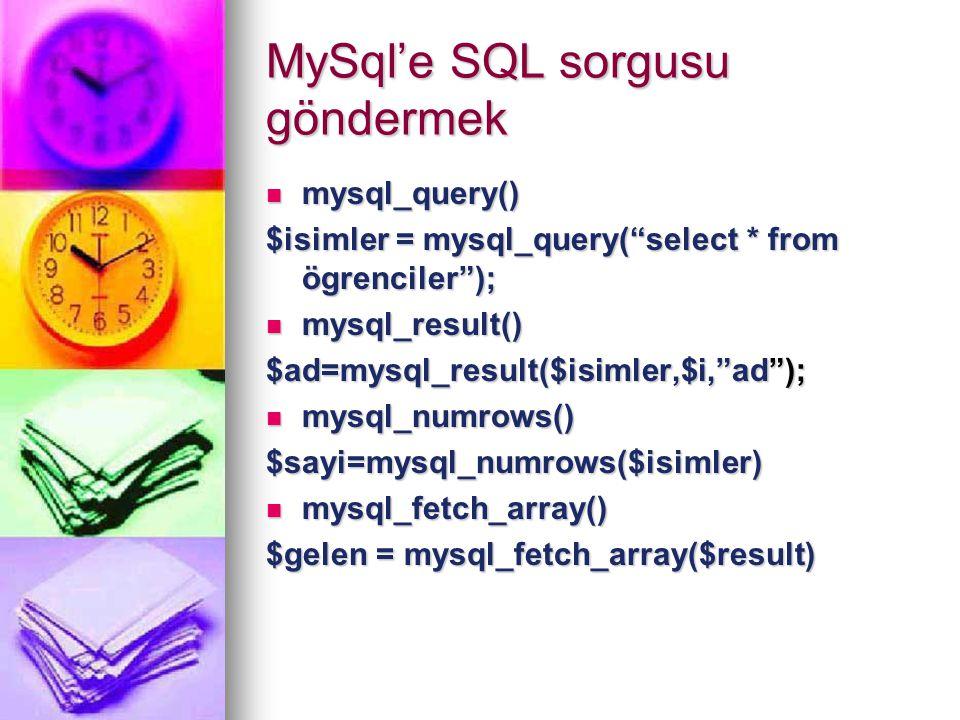 Mysql Kayıt Eklemek { $sql = insert into ozluk (NOM, BOLUM, SINIF, ADI, SOYADI) (NOM, BOLUM, SINIF, ADI, SOYADI) values values ( $NOM , $BOLUM , $SINIF , $ADI , $SOYADI ,) ; ( $NOM , $BOLUM , $SINIF , $ADI , $SOYADI ,) ;} $result= mysql_query($sql);