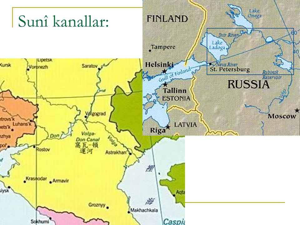 Di ğ er olas ı modeller: 2.) Sınır Gölü yaklaşımı: Bu model kabul edilse, buna uygun genel bir uluslararası hukuk antlaşması yok, bazı teamüller vardır.