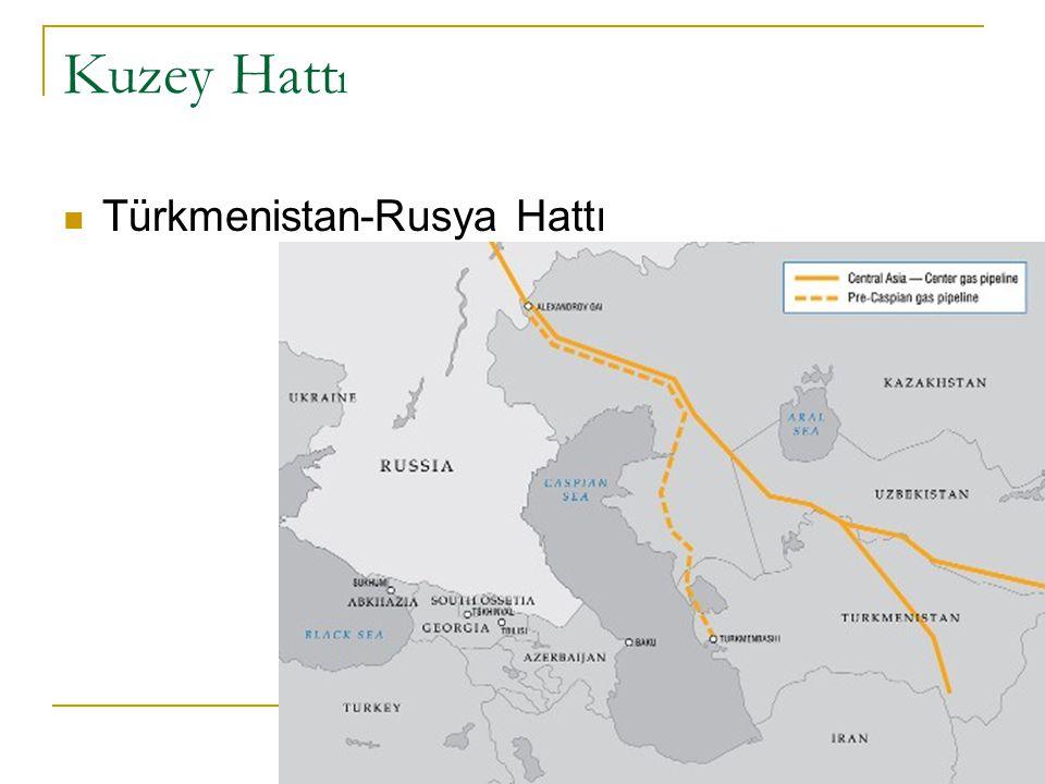 Kuzey Hatt ı Kazakistan-Rusya Hattı Boru Hatları karmaşası…