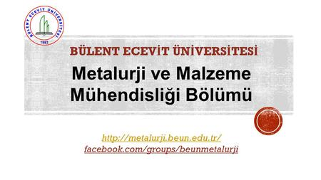 facebook.com/groups/beunmetalurji.