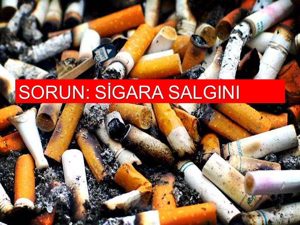 Sigara neden benzeri olmayan bir sağlık sorunudur Her dozu zararlıdır Vücudun her kısmına zarar veren binlerce kimyasal içerir.