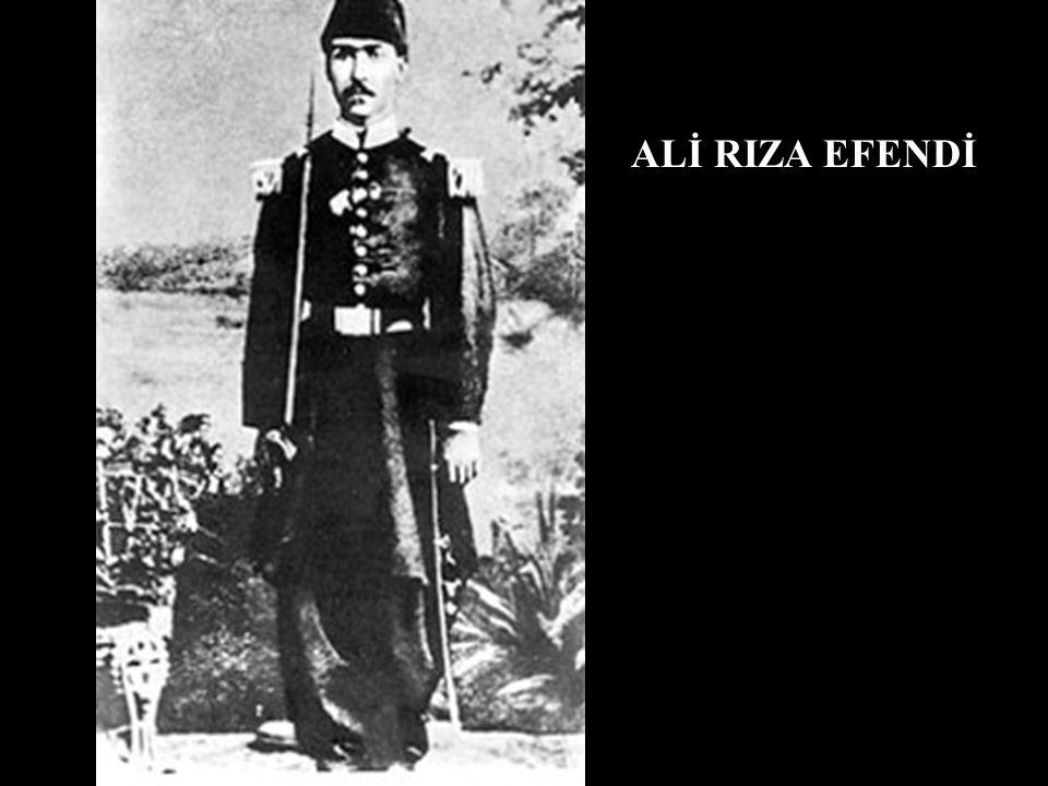ALİ RIZA EFENDİ