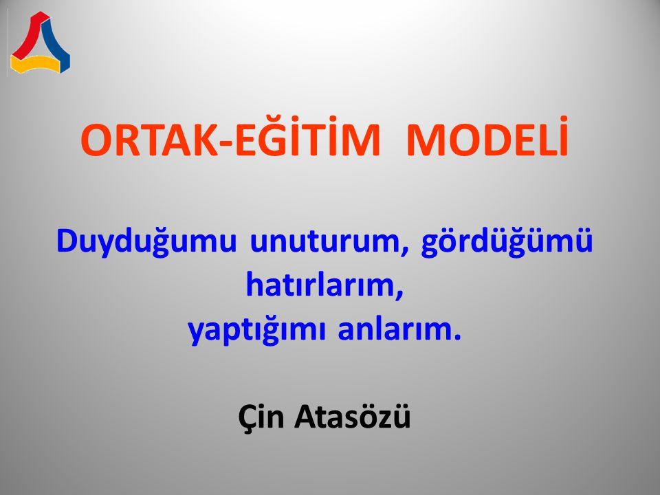 1 - Ortak-Eğitim Modeli Nedir .