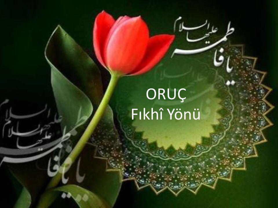 Oruç Neye Denir.İslâm ın beş temelinden biri de Ramazan ayında oruç tutmaktır.