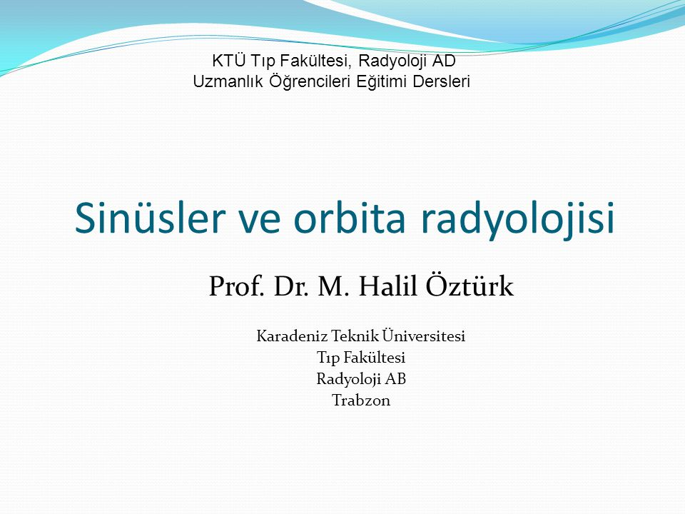 Orbita radyolojisi