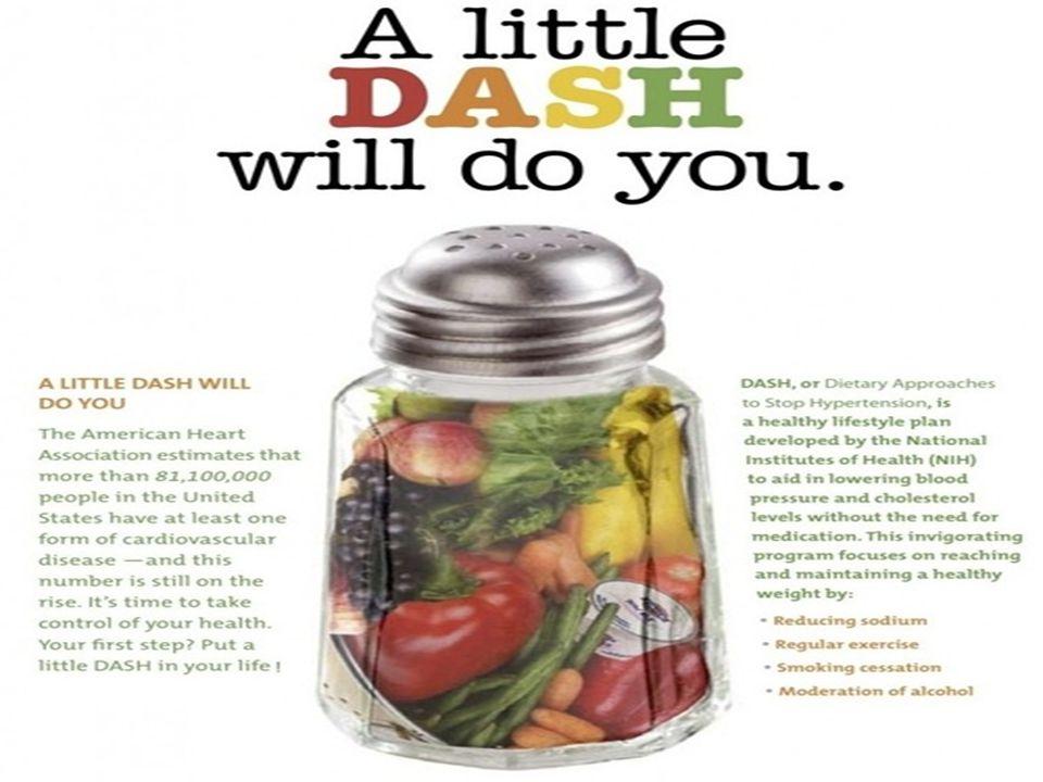 DASH Diyeti Orijinal DASH çalışması farklı diyetlerin kan basıncı üzerine etkisini test etmek için yapılan bir çalışmadır.