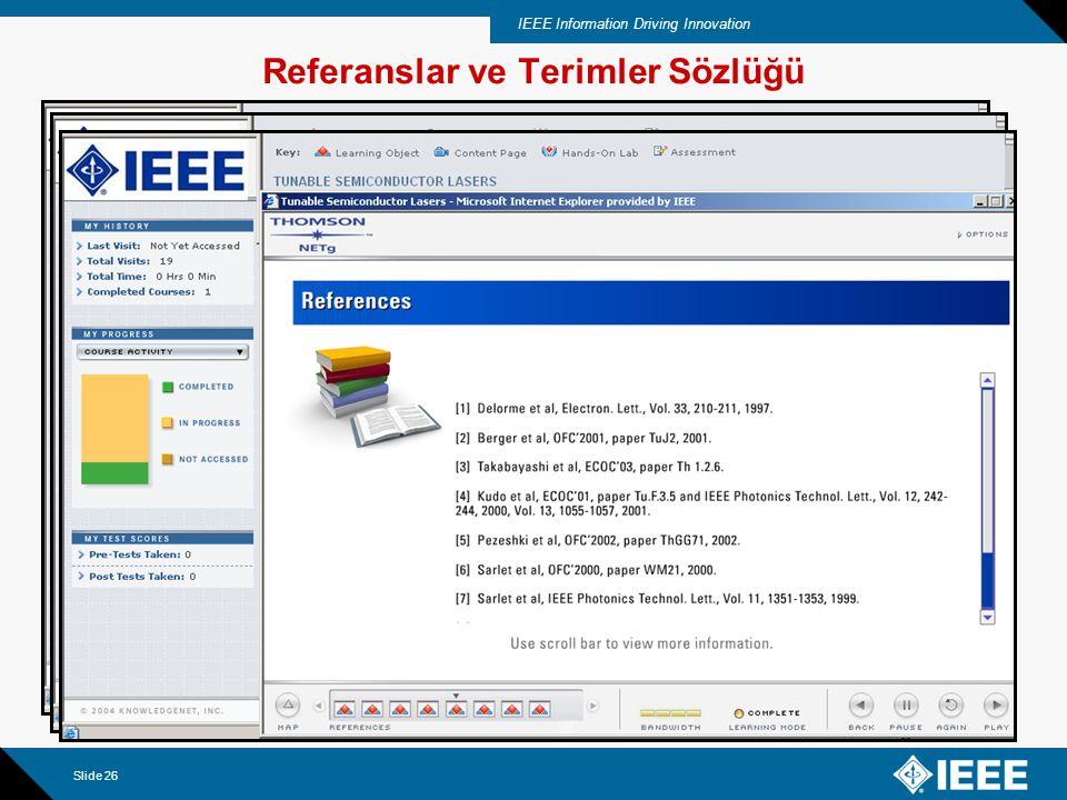 IEEE Information Driving Innovation Slide 27 CEU için Post-Test