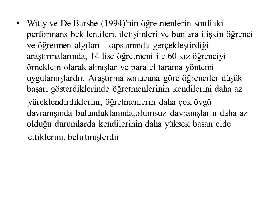 İpek (1999) in Resmi Liseler İle Özel Liselerde Örgütsel Kültür Ve Öğretmen –Öğrenci İlişkisi adlı araştırmasında Türk eğitim sistemindeki liselerin sahip olduğu örgütsel kültürün ve bu liselerdeki öğretmen-öğrenci ilişkisinin, konum (yönetici, öğretmen,öğrenci) ve okul türü (resmi lise, özel lise) değişkenlerine göre karşılaştırmalı olarak incelenmesi amaçlanmıştır.