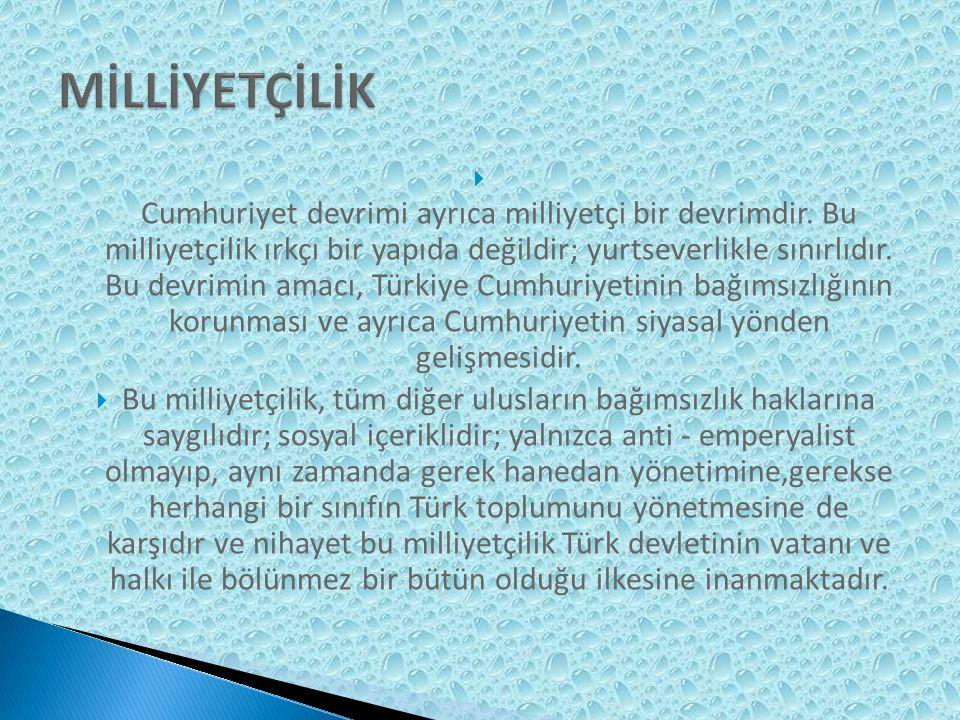 Mustafa Kemal Atatürk yapmış olduğu açıklamalarda ve politikalarında Türkiye nin bir bütün olarak modernizasyonunun ekonomik ve teknolojik gelişmeye önemli ölçüde bağlı olduğunu ifade etmiştir.