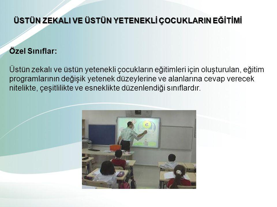 Birlikte Eğitim: birlikte eğitim verilirken, üstün zekalı çocuğun seviyesi de göz önünde bulundurularak bir takım önlemlerin alınması gerekmektedir.